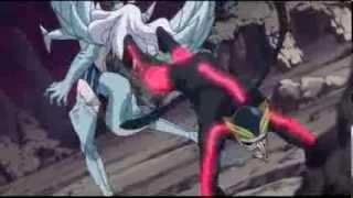 getlinkyoutube.com-Fairy Tail Mira Jane [2nd Forme] VS Racer[New Oracion Seis