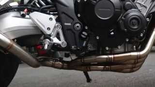 getlinkyoutube.com-ท่อ CB650F FULL SYSTEM By X-SPEED