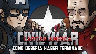getlinkyoutube.com-Como Capitán América: Civil War Debería Haber Terminado