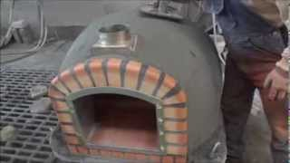 getlinkyoutube.com-Wood fired brick ovens Insulated with ROCKWOOL- Ch