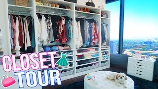 getlinkyoutube.com-MY CLOSET TOUR!!