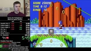 getlinkyoutube.com-(17:52) Sonic the Hedgehog 2 (Sonic) speedrun