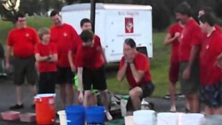 002 Boy Scout Troop 159 doing the ALS ice bucket challenge