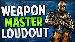 "getlinkyoutube.com-Call of Duty: Advanced Warfare ""WEAPONS MASTER Loadout"" Showcase - Diamond & Gold Outfit (COD AW)"