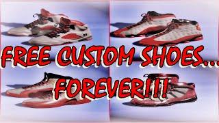 getlinkyoutube.com-NBA 2K16| Free Custom Shoes, FOREVER!!!!