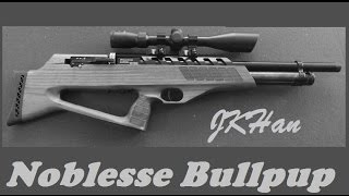 A premier air rifle at an affordable price: The J.K. Han Noblesse Bullpup .22