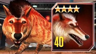 getlinkyoutube.com-ANDREWSARCHUS LEVEL 40 - Jurassic World The Game