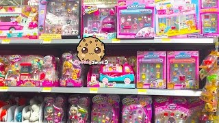 getlinkyoutube.com-Toy Hunt Cookieswirlc Shops for Shopkins, Happy Places, My Little Pony, Barbie, Disney Dolls + More
