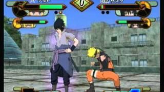 getlinkyoutube.com-Naruto GNT! SP Naruto/Minato Vs Sasuke/Itachi