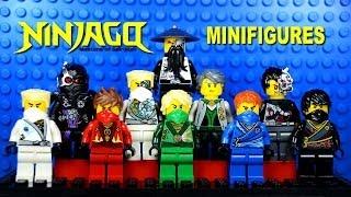 getlinkyoutube.com-LEGO Ninjago Masters of Spinjitzu Rebooted KnockOff Minifigures Set 4 (Bootleg)
