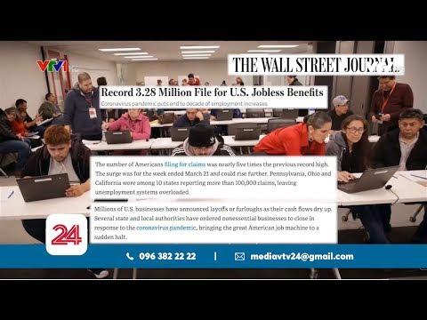 Hơn 3 triệu người Mỹ xin trợ cấp thất nghiệp