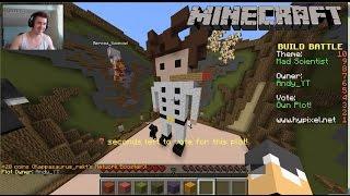 getlinkyoutube.com-Minecraft Build Battle | w/ Bercea | Castigam cu un SAVANT NEBUN | Ep #23