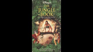 Opening To The Jungle Book 1995 Demo VHS