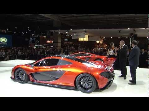 McLaren P1 unveil at the Paris Motor Show 2012