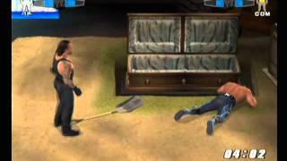 getlinkyoutube.com-Smackdown vs Raw 2006 Buried Alive Match Undertaker vs Hulk Hogan