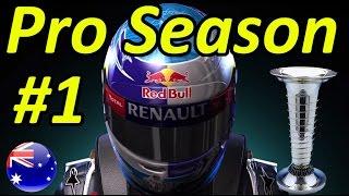 getlinkyoutube.com-F1 2015 Pro Season Mode Part 1: Australian Grand Prix