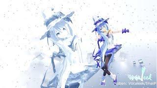 getlinkyoutube.com-[Vocaleek-MMD] Suki Yuki Maji Magic feat. Hatsune Miku   Motion Distribution