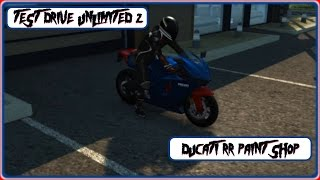 Test Drive Unlimited 2 Ducati RR Paint Shop by ctraxx66