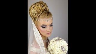 getlinkyoutube.com-Bridal wedding hair and makeup tutorial
