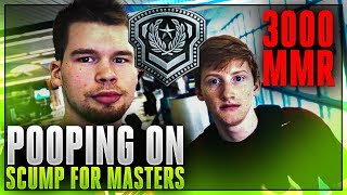 FACING OFF AGAINST SCUMP for MASTERS RANK 3000 MMR
