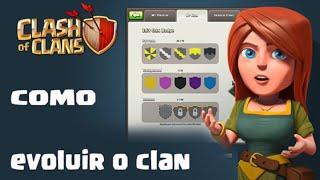 getlinkyoutube.com-Clash of Clans - Criando um Clâ #2 Como evoluir seu Clan