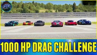 getlinkyoutube.com-Forza Horizon 2 Online : 1000 Horsepower Drag Cars!!! (AR12 ARMY vs NICK)