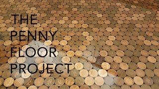 getlinkyoutube.com-The UK Penny Floor Project | How we took 27,000 1p coins and created a penny floor