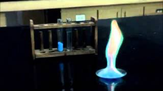 تجربة طيف الانبعاث الذري للنحاس