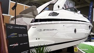 getlinkyoutube.com-2015 Regal 28 Express Motor Boat - Walkaround - 2015 Montreal Boat Show