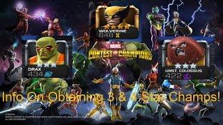 getlinkyoutube.com-Marvel Contest Of Champions - Different Ways Of Obtaining 3* & 4* Champions