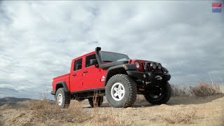 getlinkyoutube.com-AEV Brute Double Cab: The Jeep Pickup That Jeep Doesn't Build - CAR and DRIVER