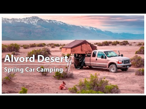 Alvord Desert Oregon | Spring Car Camping | Willow Creek Hot Springs