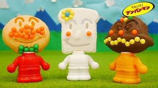 getlinkyoutube.com-アンパンマン ねんど おもちゃアニメ 電子レンジでパン工場でねんどあそび 歌 映画 テレビ Anpanman Toys