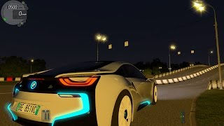 getlinkyoutube.com-City Car Driving 1.5.0 BMW I8 eDrive TrackIR Pro 4 [1080P]