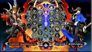 getlinkyoutube.com-BlazBlue Central Fiction Title Screen & Character Select