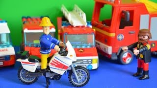 getlinkyoutube.com-2015 Fireman Sam Full Episode New Motobike Play Mobil Full story Pontypandy