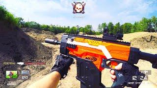 getlinkyoutube.com-Nerf Gun Game: Call of Duty First Person Shooter