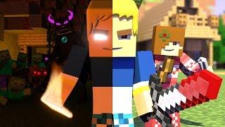 getlinkyoutube.com-Burak Oyunda Minecraft Animation 2 - Burak vs Mobs Minecraft Animasyonu |HG Animation|