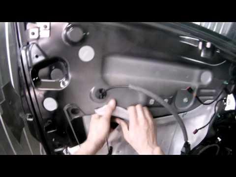 [BR-GAVS] Как снять и поставить обшивку передней двери на ФОРД КУГА.