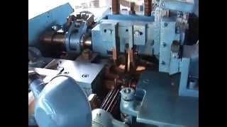 getlinkyoutube.com-Germany 6,8,10MM Chain Production line(Chain making machine) chain bending and welding machine