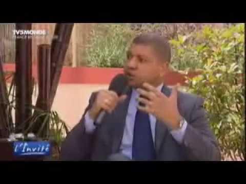 Jean-Louis Billon sur TV5 (Sommet Afrique-France 2010-Nice)
