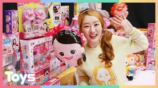 getlinkyoutube.com-엘리의 꼬마 캐리 생일파티 선물 고르기! 캐리와 장난감 친구들 장난감 놀이 CarrieAndToys