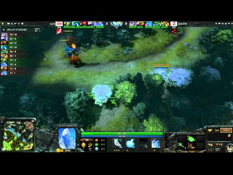 LGD vs Zenith - Game 1, Winner Bracket Semifinals - The International - English Commentary