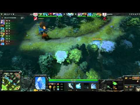 LGD vs Zenith - Game 1, Winner Bracket Semifinals - The International - English Commentary