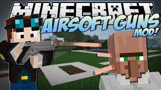 getlinkyoutube.com-Minecraft | AIRSOFT GUNS MOD! (Awesome New Guns & Weapons!) | Mod Showcase