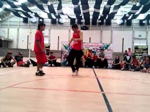 Bboy Rock Lion vs New York - Top Rock Battle Semi Final 2 | Natural Element Jam 2013