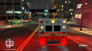 getlinkyoutube.com-GTA4 PC | EMS Responding to Officer Down