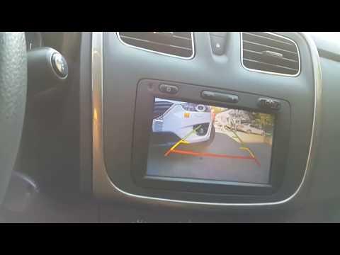 Камера заднего вида Renault Sandero