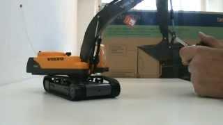 getlinkyoutube.com-Volvo 1-32  Digger radio control