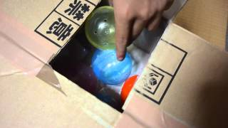 getlinkyoutube.com-ダンボールで作るガチャガチャ 2号 アサヒ5